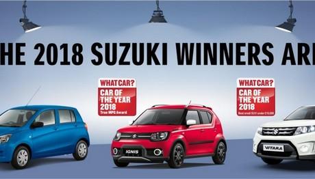 Δείτε ποια μοντέλα της SUZUKI στέφθηκαν νικητές στα βραβεία What Car?