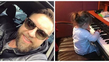 Γιάννης Βαρδής: Δείτε πόσο μοιάζει με την κόρη του