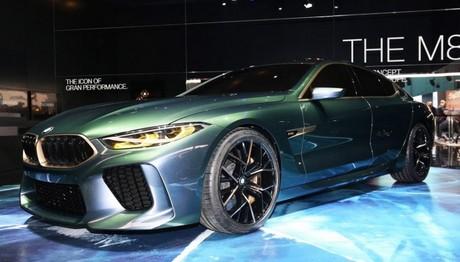 Η BMW Concept M8 Gran Coupe εντυπωσίασε  στην έκθεση αυτοκινήτου της Γενεύης