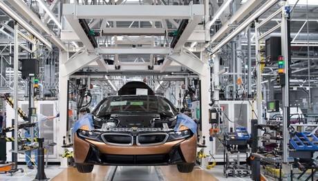 Ξεκίνησε η παραγωγή του BMW i8 Roadster στη Λειψία