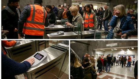 Μετρό Σύνταγμα: Προβλήματα από το κλείσιμο των πυλών