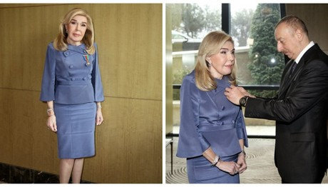 Το Αζερμπαϊτζάν τιμά την κυρία Μαριάννα Β.Βαρδινογιάννη
