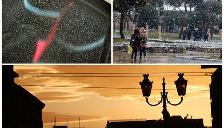 Σπάνιο καιρικό φαινόμενο: Καύσωνας και χιόνια μαζί