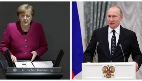 Μέρκελ κατά Πούτιν και Ερντογάν