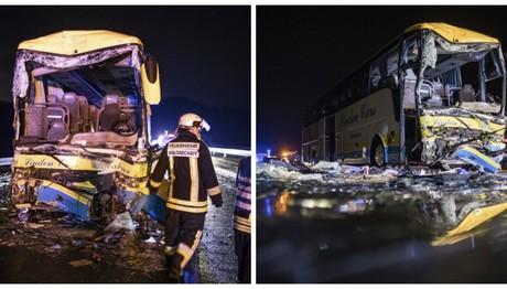Γερμανία:Tροχαίο δυστύχημα με φορτηγό και λεωφορείο