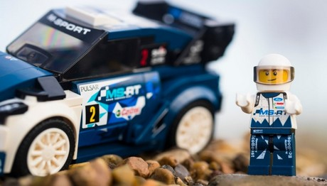 To M-Sport Ford Fiesta WRC έγινε  LEGO