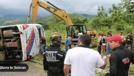 Ανατροπή λεωφορείου στον Ισημερινό – 12 νεκροί