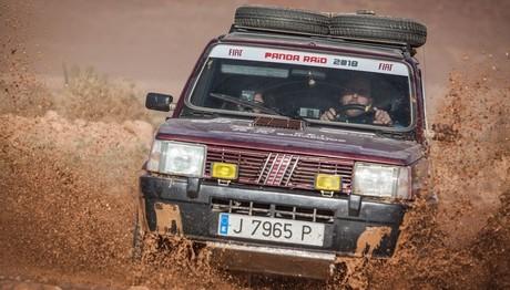 Το Fiat Panda κατέκτησε  την έρημο