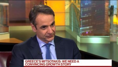 Μητσοτάκης σε Bloomberg:H Ελλάδα χρειάζεται growth story