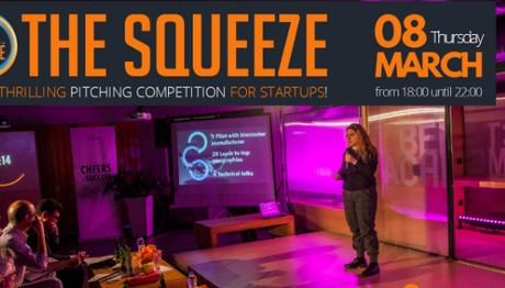 """The Squeeze"":Διαγωνισμός για startups"