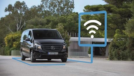 Το Mercedes Vito Tourer Dark Edition με WiFi