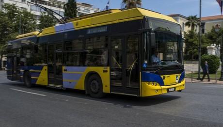 Αλλαγές στα δρομολόγια λεωφορείων και τρόλεϊ την Κυριακή