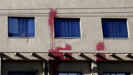 Επίθεση Ρουβίκωνα στο τουρκικό προξενείο στην Αθήνα