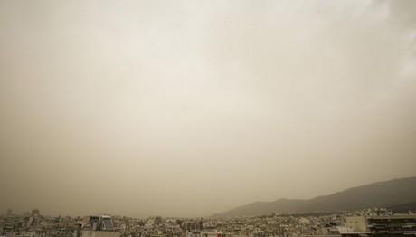 Υψηλές θερμοκρασίες με έντονη σκόνη σε όλη τη χώρα