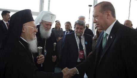 Συνάντηση Οικουμενικού Πατριάρχη με Ερντογάν