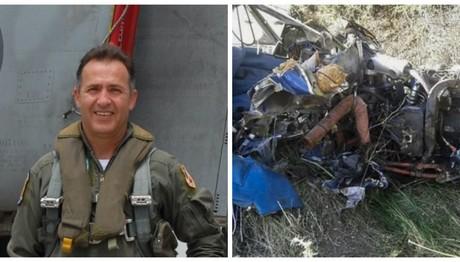 Θρήνος στην κηδεία του πιλότου που σκοτώθηκε στη Ναύπακτο