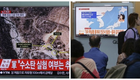 Καταστρέφεται ο χώρος πυρηνικών δοκιμών της Β. Κορέας