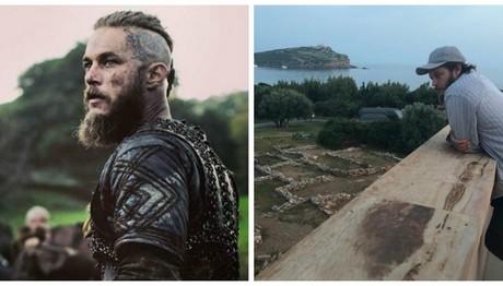 Ο «βασιλιάς των Vikings» είναι στο Σούνιο – Δείτε τις φωτ
