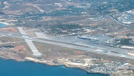 Alert με αεροσκάφος στο αεροδρόμιο του Ηρακλείου
