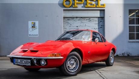 Τα 50 χρόνια του Opel GT