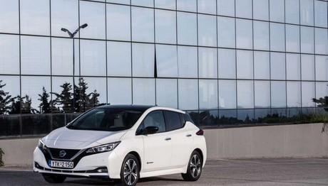Ήρθε το νέο  Nissan LEAF στην Ελλάδα με κορυφαία τεχνολογία και ασφάλεια