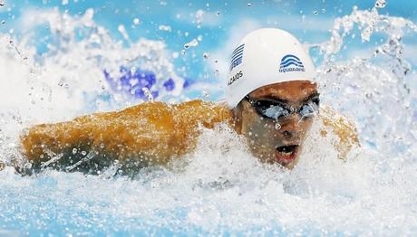 Χρυσός ο Ανδρέας Βαζαίος στην κολύμβηση