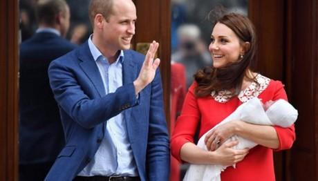 William – Middleton: Πότε θα γίνει η βάφτιση του Louis