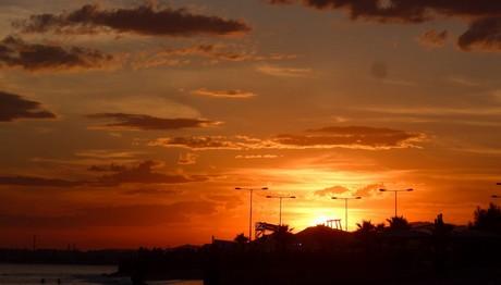 Ηλιοβασίλεμα στο Παλαιό Φάληρο