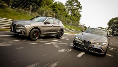 Alfa Romeo  Giuliaκαι και  Stelvio NRING