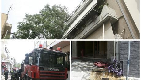 Φωτιά σε διαμέρισμα στο Χαλάνδρι – Εικόνες από το σημείο