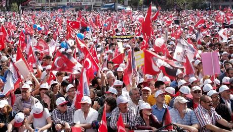 Τουρκία: Ερντογάν και Ιντζέ κλείνουν την προεκλογική εκστ
