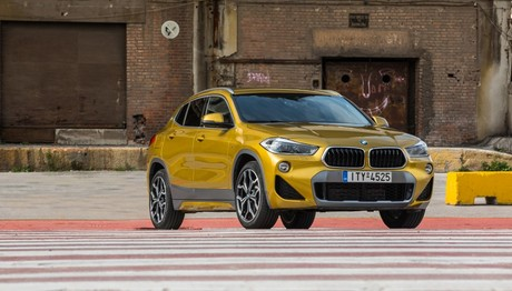BMW X2 sDrive18i με κινητήρα βενζίνης 1.500cc