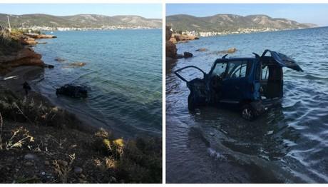 Σαλαμίνα: Γυναίκα έπεσα με το αυτοκίνητο στη θάλασσα