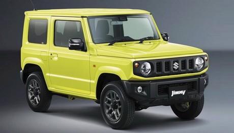 Γιατί έκαναν το νέο Suzuki Jimny πάλι τετράγωνο