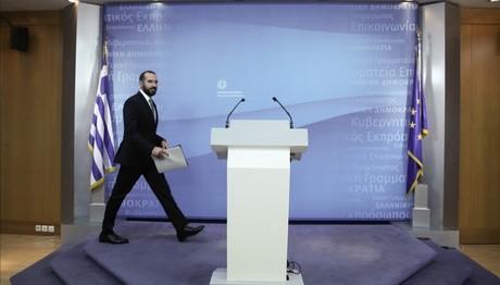 """Τζανακόπουλος: Αυτοπροσδιορίζονται σαν """"Μακεδόνες"""""""