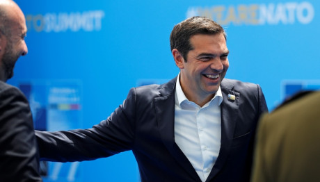 Ο Αλέξης Τσίπρας στη σύνοδο του ΝΑΤΟ