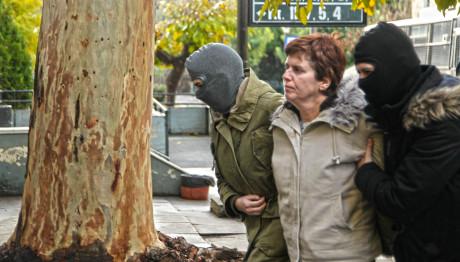 Η Πόλα Ρούπα στα δικαστήρια Ευελπίδων το 2017