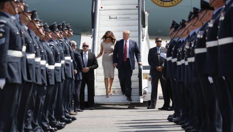 επίσκεψη Τραμπ