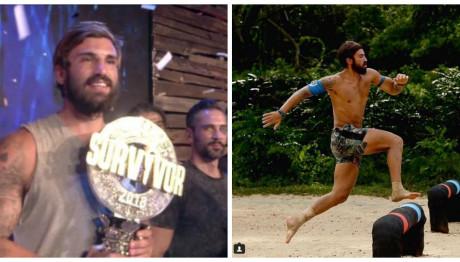 Ο Ηλίας Γκότσης νικητής του Survivor 2