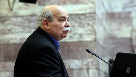 Ο πρόεδρος της Βουλής Νίκος Βούτσης
