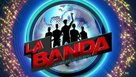 παρουσιάστρια «La banda»  Άννα Μαρία Βέλλη