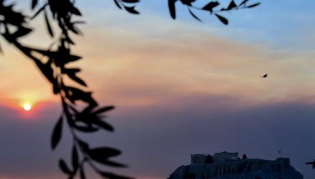 Το μοναδικό ηλιοβασίλεμα στην Αθήνα