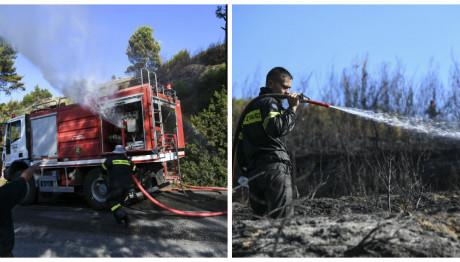 Πυρκαγιά Άγιος Στέφανος