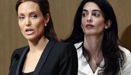 Η Angelina Jolie  μισεί την  Amal Clooney- Ποιος είναι ο λόγος;