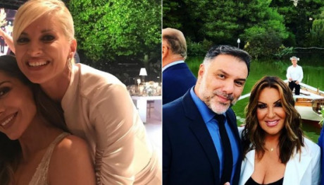 Αντώνης Ρέμος Υβόννη Μπόσνιακ παντρεύτηκαν