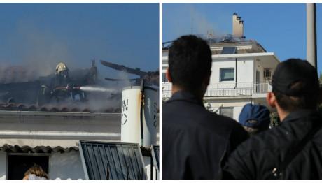 Φωτιά διαμέρισμα Μελίσσια