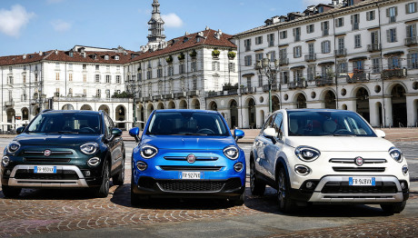 Fiat 500Χ και 500L