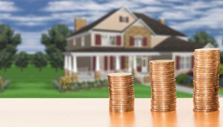 Κέρματα και σπίτι