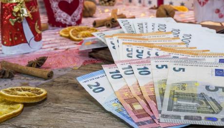 Δώρα Χριστουγέννων και χρήματα
