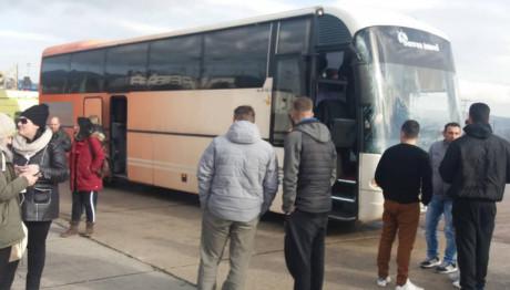 Το λεωφορείο που είχε το ατύχημα